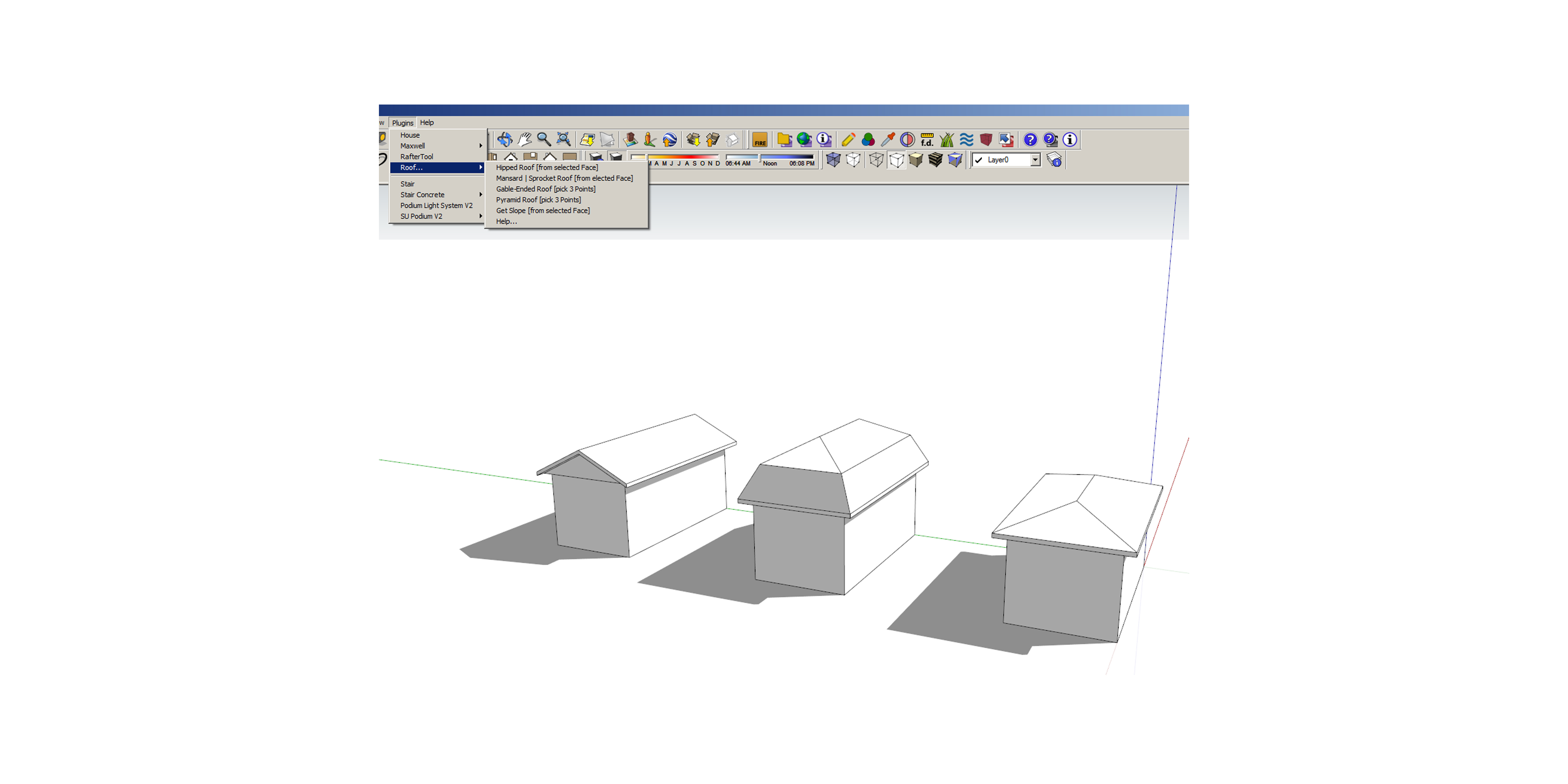 Sketchup architects trace blog1516 pooptronica