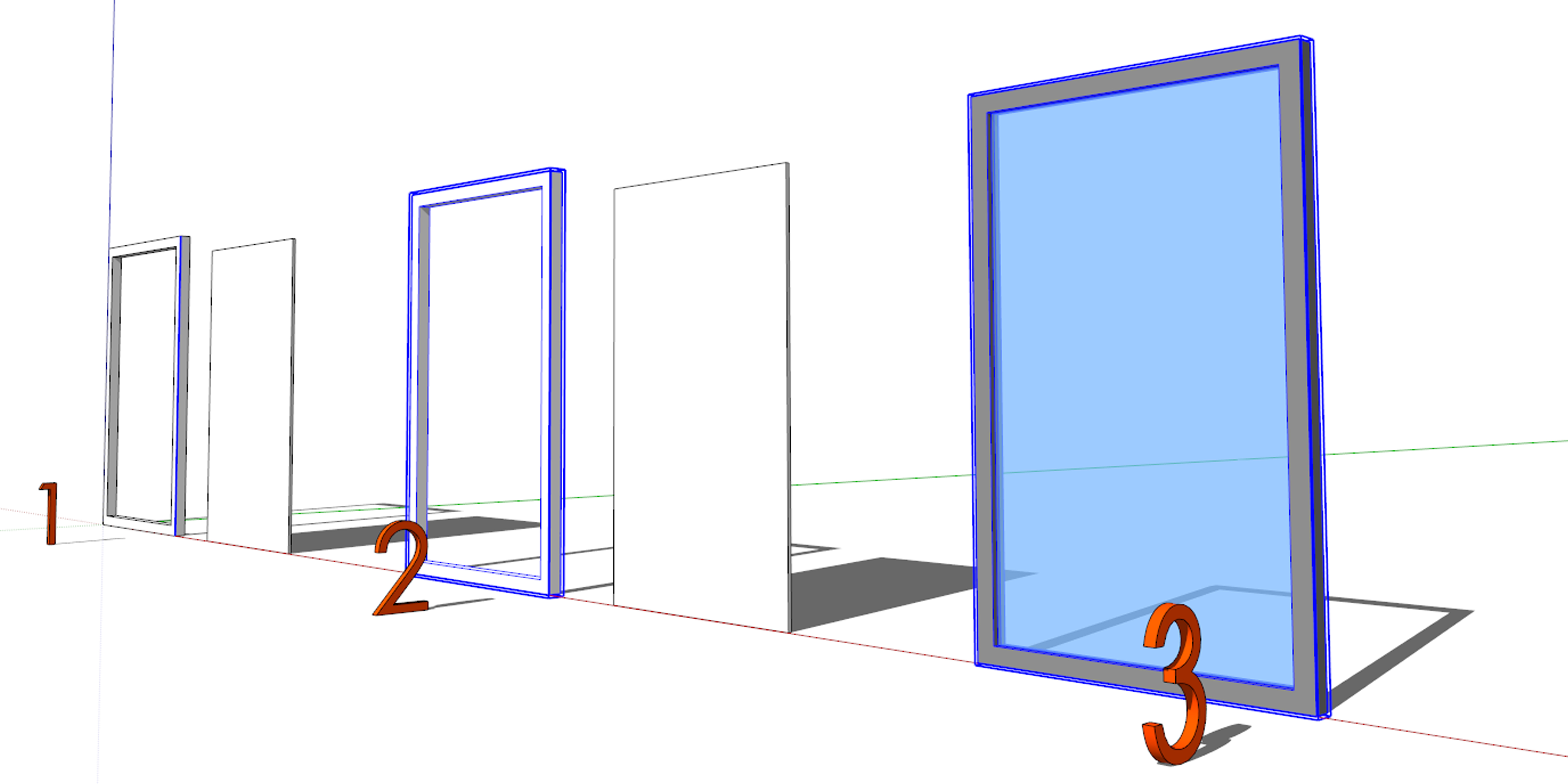 SketchUp 102- Groups and Components   Architect's Trace
