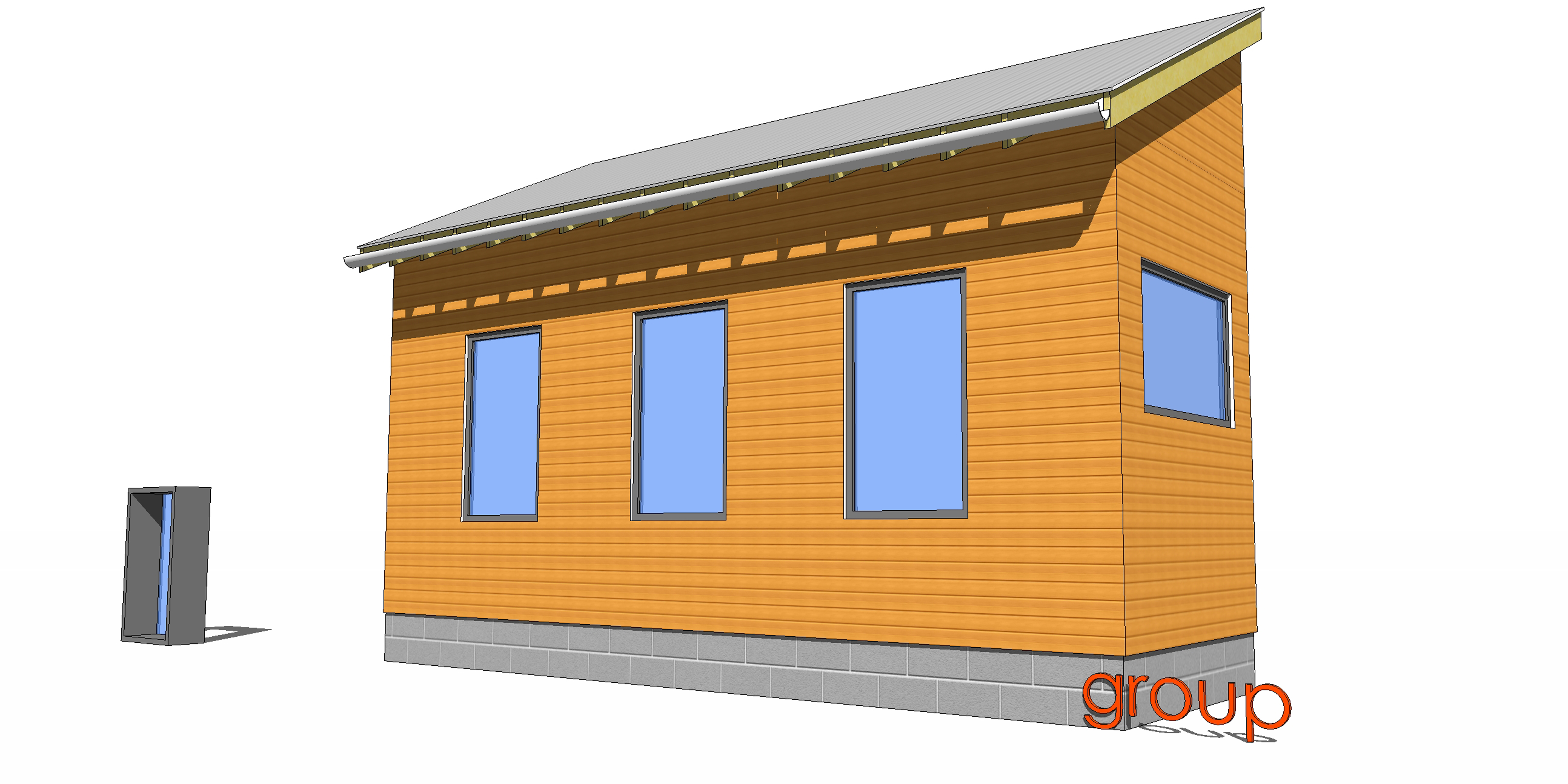 SketchUp 102- Groups and Components | Architect's Trace